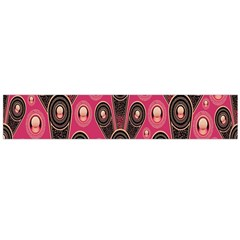 Background Abstract Pattern Flano Scarf (large)