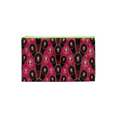 Background Abstract Pattern Cosmetic Bag (XS)