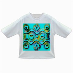 Background Braid Fantasy Blue Infant/Toddler T-Shirts