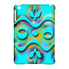 Background Braid Fantasy Blue Apple Ipad Mini Hardshell Case (compatible With Smart Cover)