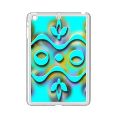 Background Braid Fantasy Blue iPad Mini 2 Enamel Coated Cases