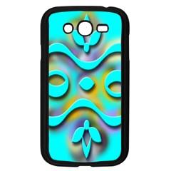 Background Braid Fantasy Blue Samsung Galaxy Grand DUOS I9082 Case (Black)