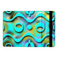 Background Braid Fantasy Blue Samsung Galaxy Tab Pro 10.1  Flip Case