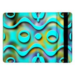 Background Braid Fantasy Blue Samsung Galaxy Tab Pro 12.2  Flip Case
