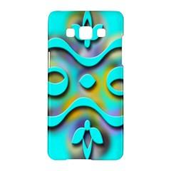 Background Braid Fantasy Blue Samsung Galaxy A5 Hardshell Case