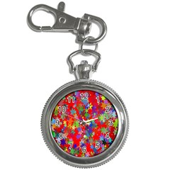 Background Celebration Christmas Key Chain Watches