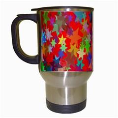 Background Celebration Christmas Travel Mugs (White)
