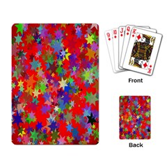 Background Celebration Christmas Playing Card