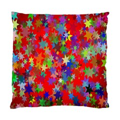 Background Celebration Christmas Standard Cushion Case (Two Sides)