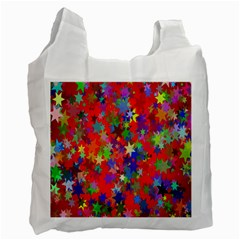 Background Celebration Christmas Recycle Bag (Two Side)