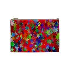 Background Celebration Christmas Cosmetic Bag (Medium)