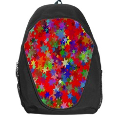 Background Celebration Christmas Backpack Bag