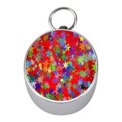 Background Celebration Christmas Mini Silver Compasses