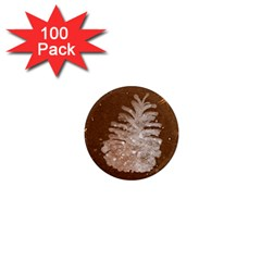 Background Christmas Tree Christmas 1  Mini Magnets (100 pack)