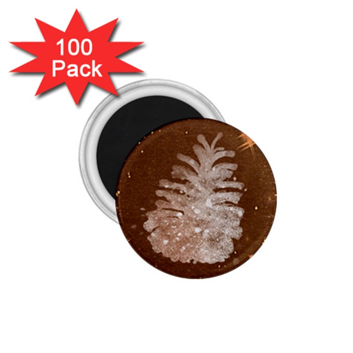 Background Christmas Tree Christmas 1.75  Magnets (100 pack)