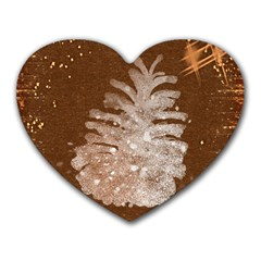 Background Christmas Tree Christmas Heart Mousepads