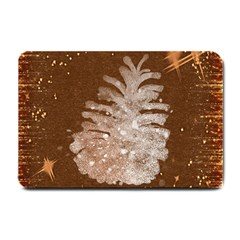 Background Christmas Tree Christmas Small Doormat