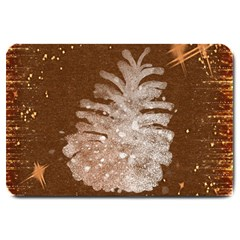 Background Christmas Tree Christmas Large Doormat