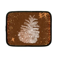 Background Christmas Tree Christmas Netbook Case (small)