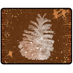 Background Christmas Tree Christmas Fleece Blanket (Medium)