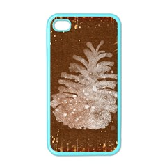Background Christmas Tree Christmas Apple iPhone 4 Case (Color)
