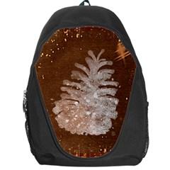 Background Christmas Tree Christmas Backpack Bag