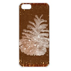 Background Christmas Tree Christmas Apple iPhone 5 Seamless Case (White)