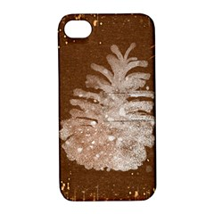 Background Christmas Tree Christmas Apple Iphone 4/4s Hardshell Case With Stand