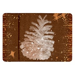 Background Christmas Tree Christmas Samsung Galaxy Tab 8.9  P7300 Flip Case