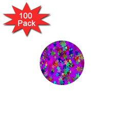 Background Celebration Christmas 1  Mini Buttons (100 pack)