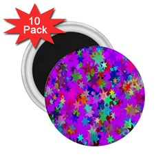 Background Celebration Christmas 2.25  Magnets (10 pack)