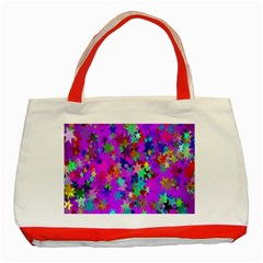 Background Celebration Christmas Classic Tote Bag (red)