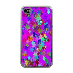Background Celebration Christmas Apple iPhone 4 Case (Clear)
