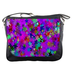 Background Celebration Christmas Messenger Bags
