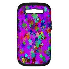 Background Celebration Christmas Samsung Galaxy S Iii Hardshell Case (pc+silicone)