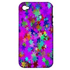 Background Celebration Christmas Apple Iphone 4/4s Hardshell Case (pc+silicone)