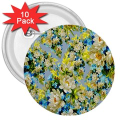 Background Backdrop Patterns 3  Buttons (10 pack)