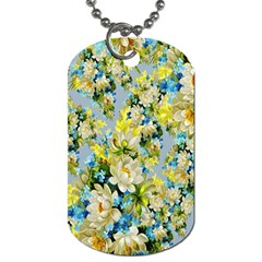 Background Backdrop Patterns Dog Tag (two Sides)