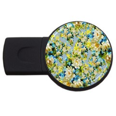 Background Backdrop Patterns USB Flash Drive Round (1 GB)