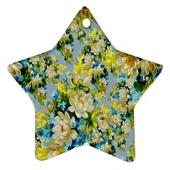 Background Backdrop Patterns Star Ornament (Two Sides)