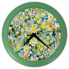 Background Backdrop Patterns Color Wall Clocks