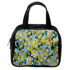 Background Backdrop Patterns Classic Handbags (One Side)