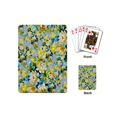 Background Backdrop Patterns Playing Cards (Mini)