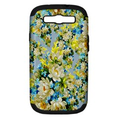 Background Backdrop Patterns Samsung Galaxy S III Hardshell Case (PC+Silicone)