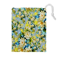 Background Backdrop Patterns Drawstring Pouches (Extra Large)