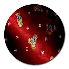 Background Fabric Round Mousepads