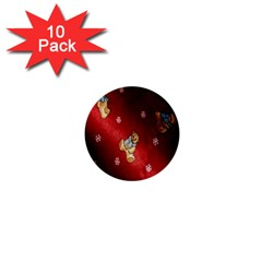 Background Fabric 1  Mini Buttons (10 pack)