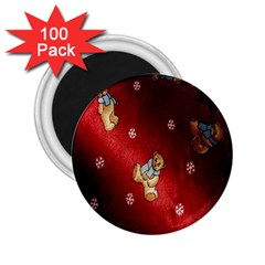 Background Fabric 2.25  Magnets (100 pack)