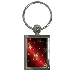 Background Fabric Key Chains (Rectangle)