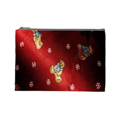 Background Fabric Cosmetic Bag (Large)